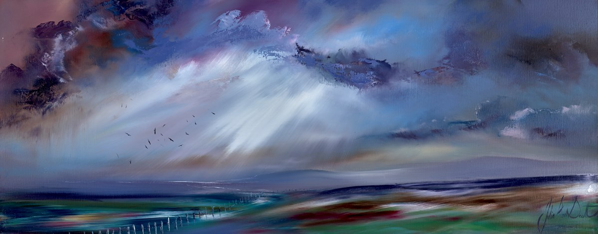 You Never Leave Me by julie ann scott -  sized 40x16 inches. Available from Whitewall Galleries